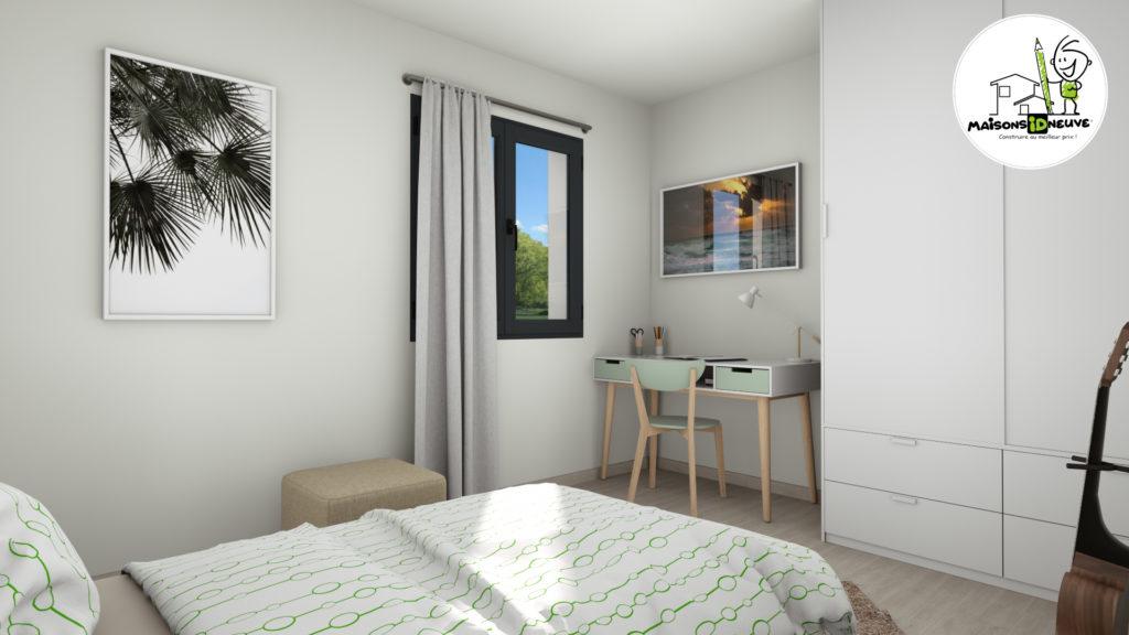Maison Individuelle Id Concept chambre