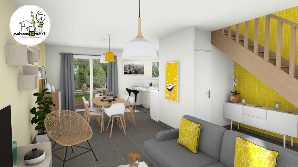 Maison Individuelle Id Concept salon