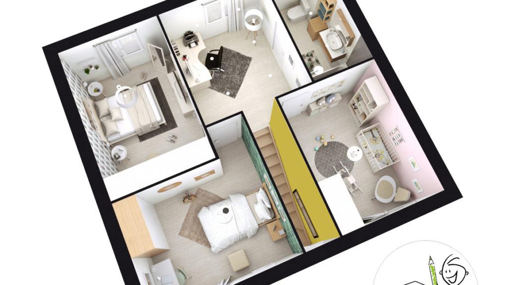 Maison Individuelle Id Concept etage