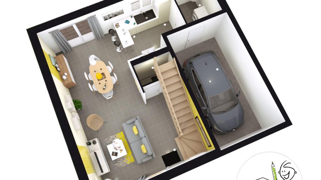 Maison Individuelle Id Concept RDC