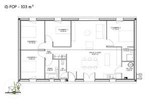 maison individuelle Idpop 103m²