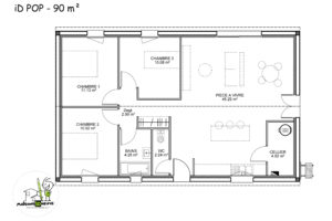 maison individuelle Idpop 90m²