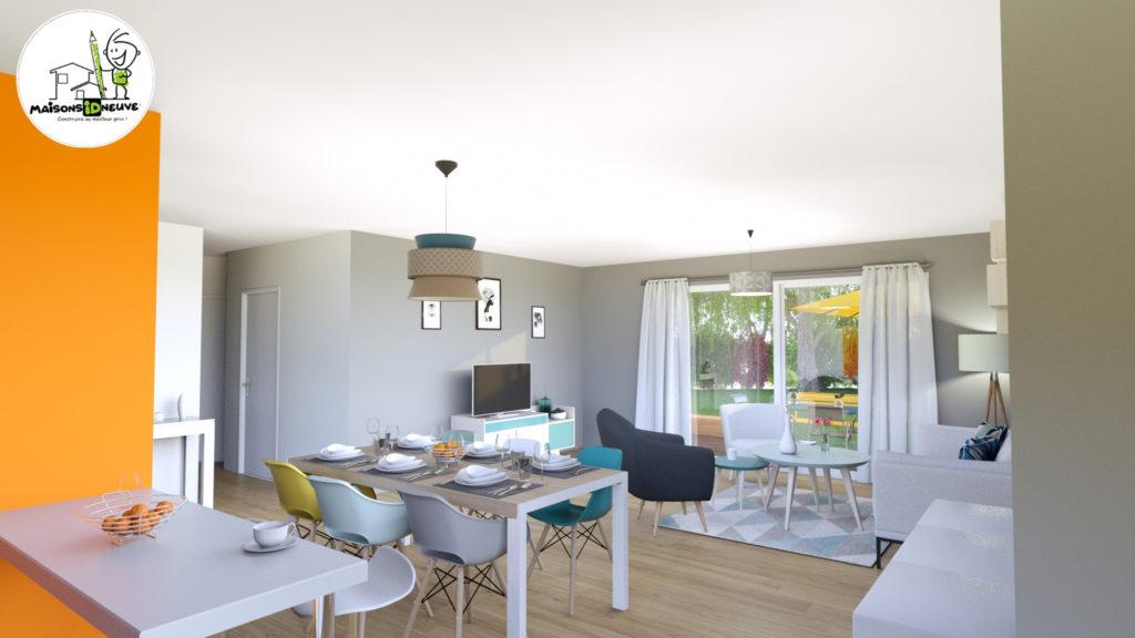 Projet maison individuelle ID LYS intérieur