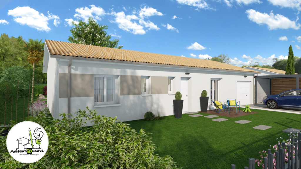 maison individuelle ID FAMILY tuile claire